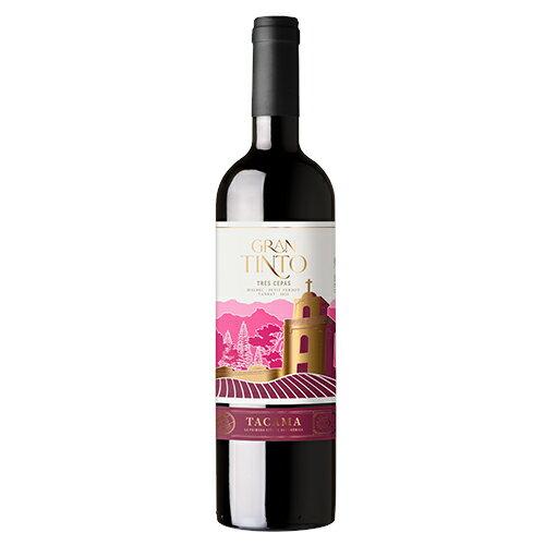 TACAMA 赤ワイン グラン ティント 750ml 【あす楽対応】 【ペルーワイン】【南米ワイン】【輸入ワイン 激安】【ペルー お土産】【ワイン ギフト】 【楽ギフ_包装】【楽ギフ_のし】10P04Mar17