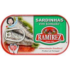 サルジンニャス (イワシのトマトソース漬け) ラミレス 125g 【あす楽対応】【楽ギフ_包装…