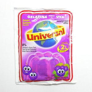 【ペルー産ぶどうゼリー】ぶどう・ゼリーの素 ユニバーサル 150g(2L分)gelatina sabor a uva...