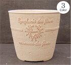 植木鉢プランターファイバーストーン[194-901S]おしゃれ可愛い丸型アンティーク風ガーデニング