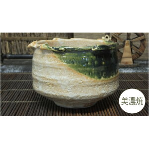 [Sale] Japanese pot Bonsai pot Yamano pot [4019] No. 4 flowerpot Mino ware Japanese style pottery made in Japan (size diameter 12.0 (Height 9.0 cm)
