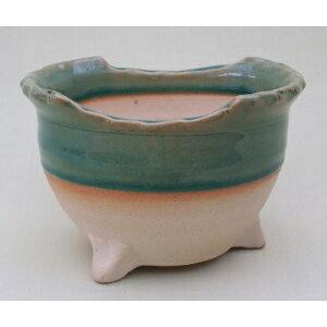 [Sale] Japanese pot Bonsai pot Yamano pot [980-0692] No. 5.5 flower pot Japanese style pottery (size diameter 17.0 x high (10.0 cm)