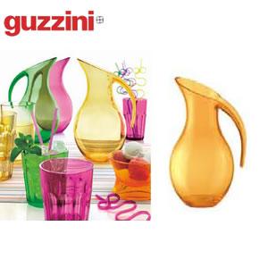 【ピッチャー・水差し】【バー用品・テーブルグッズ】【guzzini(グッチーニ)】guzziniハッピーアワーピッチャー234300イエロー(1243−16)EBM