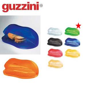 【テーブルグッズ】【トレー・ドーム】【プラスチック製】【guzzini(グッチーニ)】グッチーニラッチ−ナブレッドビン232500グリーン(1251−8)EBM