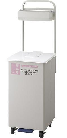 ※受注生産品約1ヶ月【施設用品】【トイレ備品】【オムツ用ゴミ箱】【ベビールームなど】紙オムツ用ダストボックス F-700 (山崎産業)[YD-161L-ID]:業務用メラミン食器の通販KYOEI