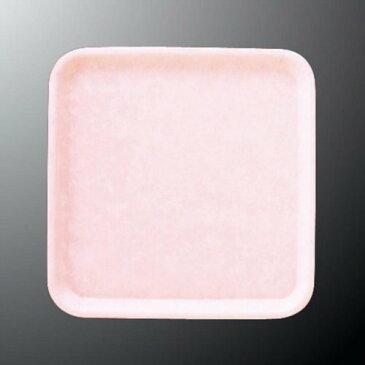 FRP 31cm 正角トレー 310X310mm H19mm ピンク FBトレー[N25PK] マルケイ 業務用 正方形 トレイ 盆 お盆 おぼん 業務用 プラスチック 樹脂 耐熱 シンプル すべり止め加工 D8