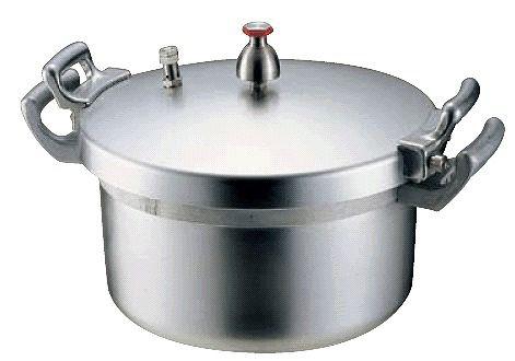 【圧力鍋:18L】【業務用!学校・施設様に】ホクア 業務用アルミ圧力鍋18L (6-0093-0302):業務用メラミン食器の通販KYOEI