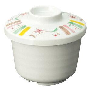 メラミン むし碗 小 直径89mm H23mm ふた(商品はふたのみ) 花さらさ[B9CHSS] マルケイ 業務用 食洗機対応 割れにくい 丈夫 業務用 プラスチック 樹脂 食器 皿 D8