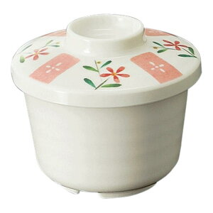 メラミン むし碗 小 直径81mm H61mm 180cc 身(ふたは別売り) ホワイトC[B9BIWC] マルケイ 業務用 食洗機対応 割れにくい 丈夫 業務用 プラスチック 樹脂 食器 皿 D8