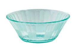 PC製・プラスチック製 信濃化学・SHINCA 業務用食器 透明なうつわ クリスタル 小鉢 大 グリーン(115×44 230ml) [5502-green]□D8□