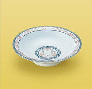 メラミン製 蛍中華 中華浅鉢 (小) スリーライン[CH-531] 食器 中華 料理 プラスチック製 業務用 皿 プレート 盛り皿 炒め物 主菜