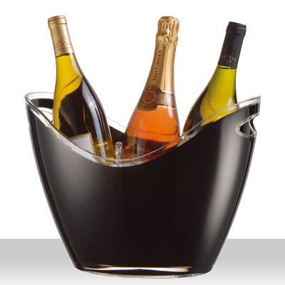 【ワイン・バー用品】【卓上用品】【ワイン/シャンパンクーラー】ヴィノゴンドラワインクーラーL2929(EBM)(1335-10)