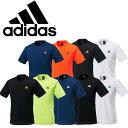 【2枚までメール便選択で送料無料】アディダス ワンポイント 半袖Tシャツ DJF43