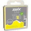 SWIX スウィックス TS10 ブラック TS10B-4 レーシングワックス アイスバーン 摩擦係数の多い雪 汚雪対応 0〜+10C PRO Top Speed TSB スノーボード スキー ウィンタースポーツ メンテナンス 冬 アルペン 雪山