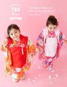 (着物セット 華やか B) 七五三 着物 3歳 20colors 販売 フルセット 753 女の子 被布 被布セット ガールズ(sp) 2