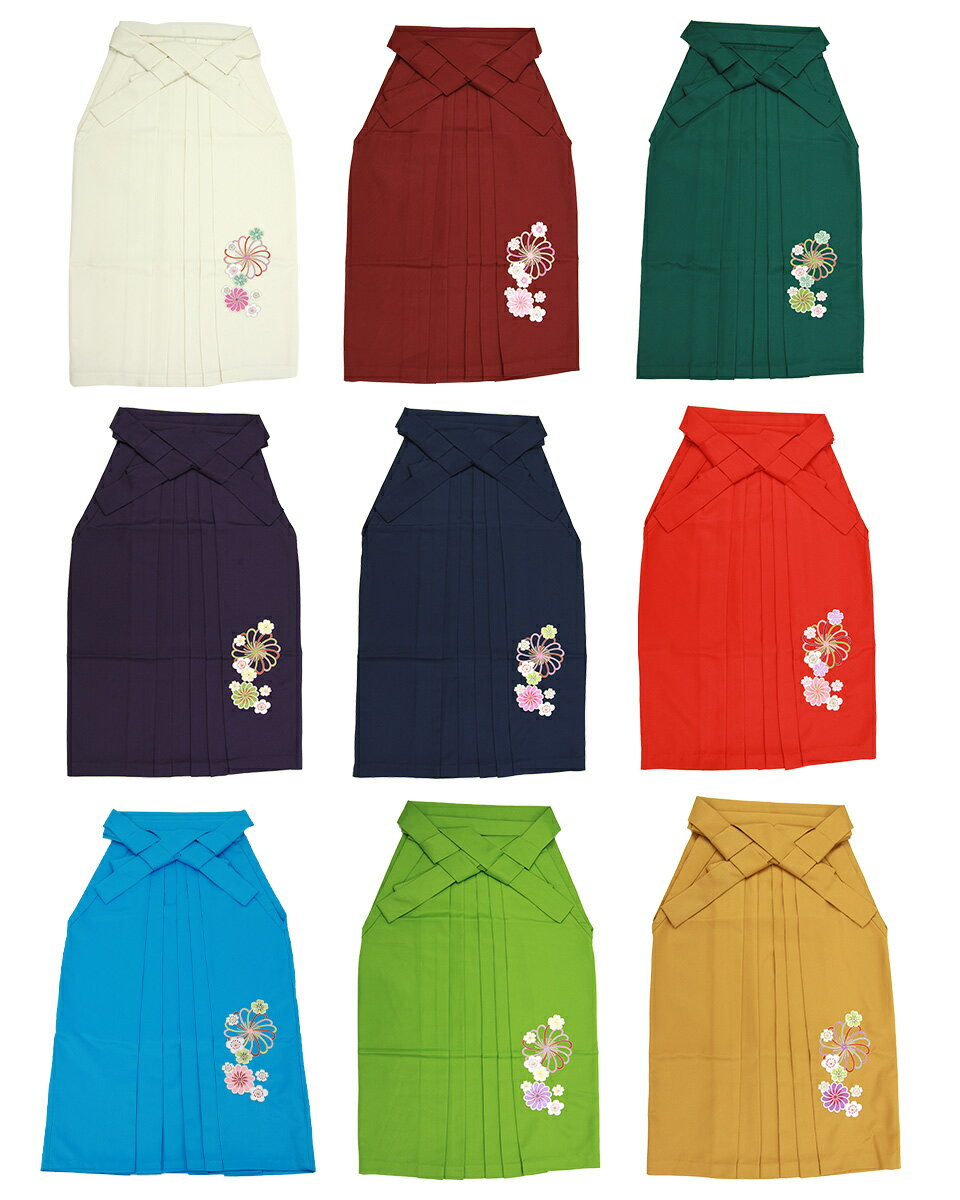 卒業式 袴刺繍 安い 大学 大学生 先生 教員 小学生サイズあり ジュニア レトロモダン 人気
