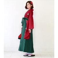 袴レンタル卒業式袴セット卒業式袴セット2尺袖着物&袴フルセットレンタル安いハカマはかまrental