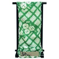 【絞りゆかた】手絞り薄緑色贅沢で細やかな総絞り最高級浴衣