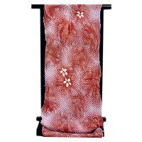 【絞りゆかた】牡丹鼠蘇芳香オシャレ贅沢で細やかな総絞り最高級浴衣