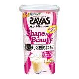 【土日も出荷】ザバス for Woman シェイプ&ビューティ ソイプロテイン ミルクティー風味 大豆 12食分 252g