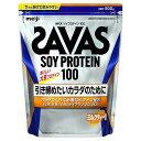 ザバス ソイプロテイン100 ミルクティー風味 50食分 1,050g 明治 プロテイン 減量 女性