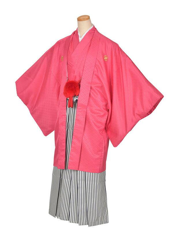 【レンタル】ピンク紋付