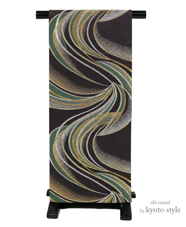 【帯 レンタル】袋帯 レンタル 帯 単品 女性 貸衣裳 訪問着 礼装 フォーマル おしゃれ帯 帯だけ 往復送料無料 73079【レンタル】