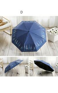 日傘折りたたみ遮光uvカットおしゃれ折りたたみ傘軽量晴雨兼用日傘レディースひんやり傘紫外線対策遮熱傘かさカサ