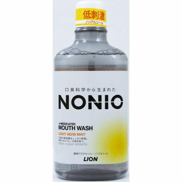 ライオン NONIOマウスW NアルハーブM 600ml