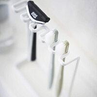 タワー歯ブラシスタンド5連ホワイト歯ブラシ立て歯ブラシホルダー山崎実業TOWER