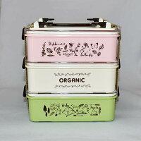 ランチボックスお弁当箱3段多段ランチボックスピクニック用ランチボックスミア