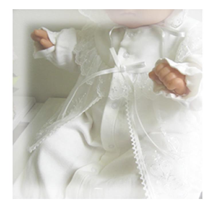 【レンタル】お宮参りのオプション ベビードレス