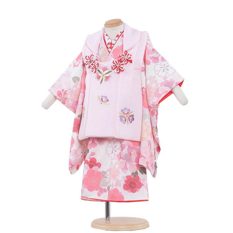 【レンタル】七五三 着物 2歳 女の子 レンタル フルセット 七五三レンタル 2歳女の子 二歳 女児 被布セットレンタル七五三 753 被布 小柄な3歳 2歳着物 着物レンタル セットひな祭り京都 送料無料/2123