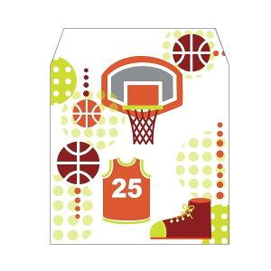 バスケットボール/コイン用ポチ袋(小)5枚セットお年玉袋・ぽち袋・おしゃれでかわいい多目的祝儀袋