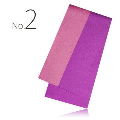 2015年新作リバーシブル袴下帯選べる5色半巾帯2色どちらを出しても使用できます。袴卒業式卒業袴青紺水色黄色緑赤紫黒