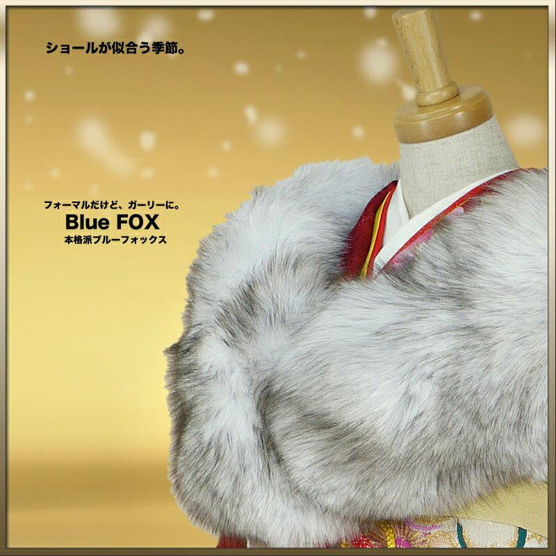 和装小物, ショール  Blue Fox SAGA FARS