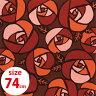 ちりめん風呂敷・薔薇 赤●和雑貨・京都くろちく【楽ギフ_包装】【楽ギフ_のし】