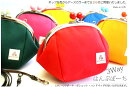 「ポシェット」「ハンドバッグ」「ポーチ」に使えるナチュラル帆布のがま口ポーチです全26色 3...