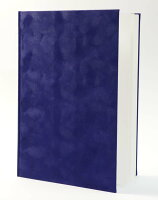 A4紺スエード表紙10枚収納用賞状ファイル(※コーナー貼付セルフサービス)