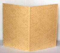 【紙表紙】1枚収納用クリーム証書ファイル・賞状ホルダー