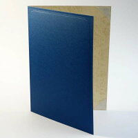 【A4用orB5用紙表紙】1枚収納用青色証書ファイル・賞状ホルダー