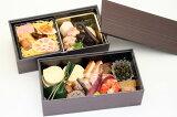 【京料理】 季節のお弁当(二段重ね)お弁当 お取り寄せ 行楽弁当 旬 素材 老舗