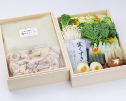 地鶏水炊き鍋セット野菜付