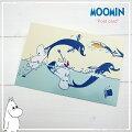 MOOMIN〈ムーミン〉シリーズポストカードイルカ