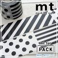 mtマスキングテープ強粘着でしっかり貼れる梱包用テープmtforPACK・パターン