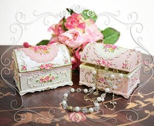 アンティークボックス 宝石箱 ジュエリーボックス アクセサリーケース お誕生日プレゼント 【あす楽】【楽ギフ_包装】【楽ギフ_のし】【楽ギフ_のし宛書】