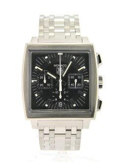 TAG HEUER Monaco CS2111 black dial automatic winding SS/SS watch