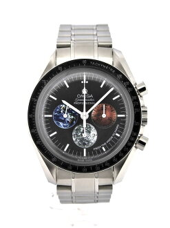 OMEGA Speedmaster from the moon to Mars Ref.3577-50 black dial hand wound SS/SS watches
