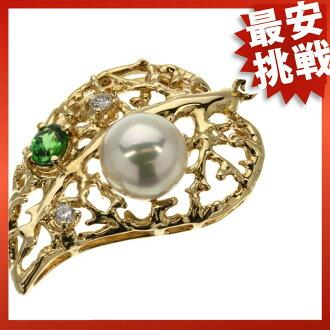 TASAKI GA-NET / pearl necklaces & pendants K18 gold ladies