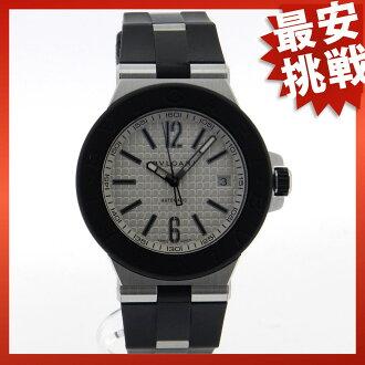 Mens BVLGARIDG40C6SVD Diagono watches SS / rubber